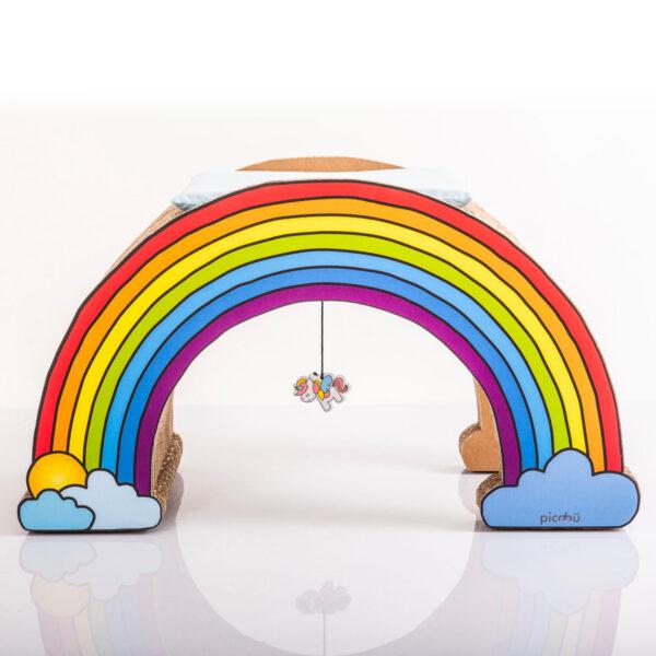 Rainbow cuccia cani design